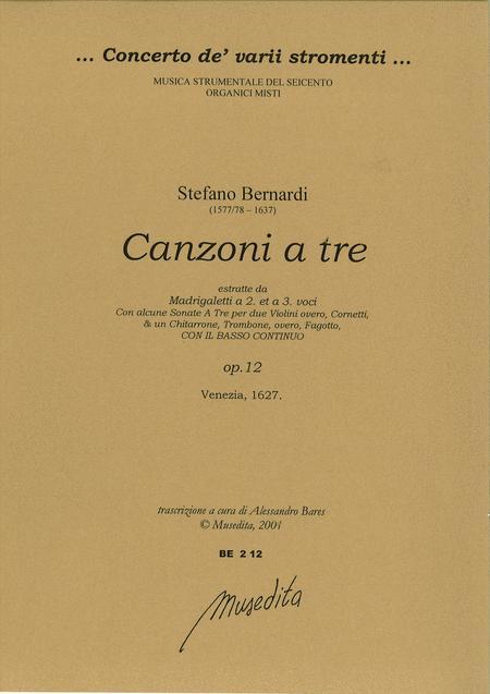 Canzoni a tre (Venezia, 1627)