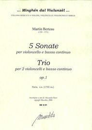 5 Sonate e 1 Trio op. 1 (Paris, 1750 ca.)
