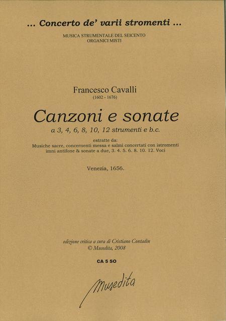 Canzoni e sonate a 3, 4, 6, 8, 10 e 12 (Venezia, 1656)