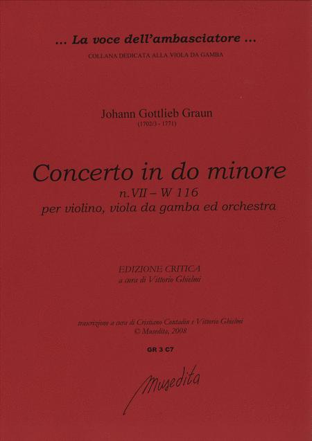 Concerto in c minor [W deest]