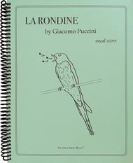 La Rondine (Vocal Score)