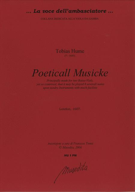 Poeticall Musicke (Manuscript., London, 1607)