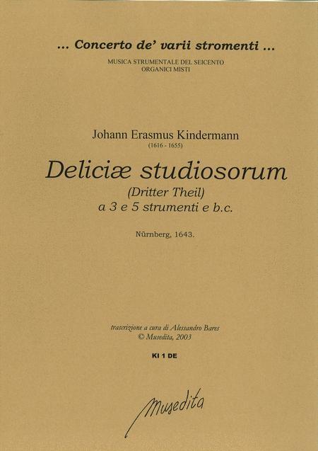 Deliciae studiosorum (Dritter Theil)