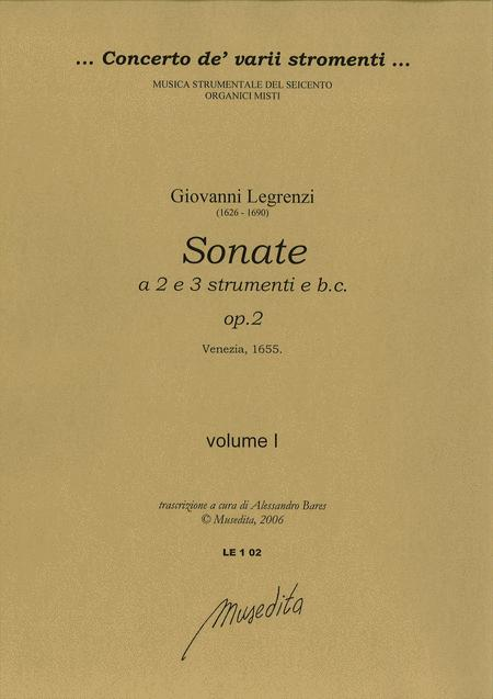Sonate op. 2 (libro primo - Venezia, 1655)