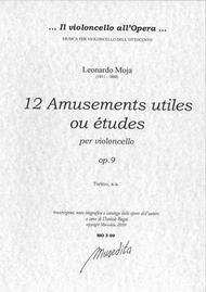 12 Amusements utiles ou etudes op. 9 (Torino, senza anno)