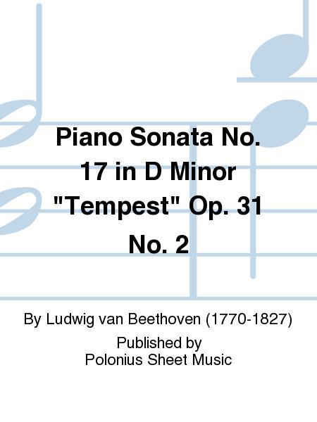 Piano Sonata No. 17 in D Minor