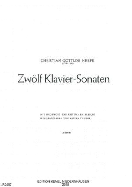 Zwolf Klavier-Sonaten : Band 1, Nr. I-VI