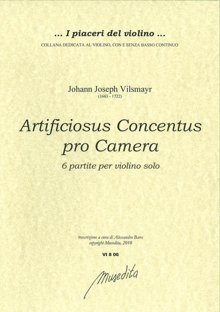 Artificiosus concentus pro camera (Salzburg, 1715)