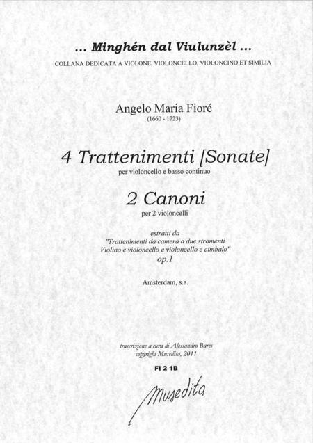 4 Cello sonatas