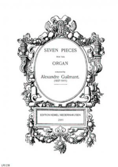 Seven pieces : for the organ