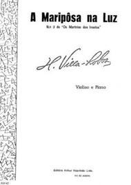Os martirios dos insetos : no. 3, A mariposa na luz : violino e piano