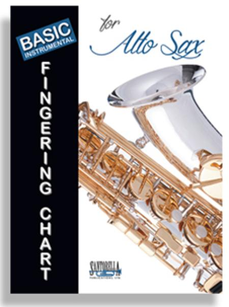 Basic Instrumental Fingering Chart for Alto Saxophone