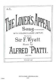 The lover's appeal : song in F for voice and piano with violoncello ad libitum