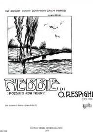 Nebbie : per soprano o tenore e pianoforte