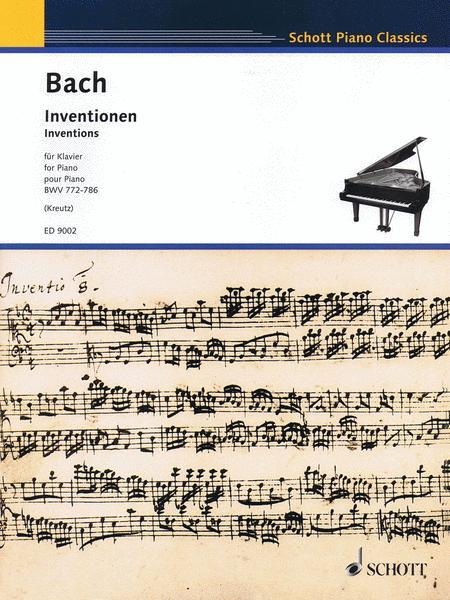 Inventions, BWV 772-786