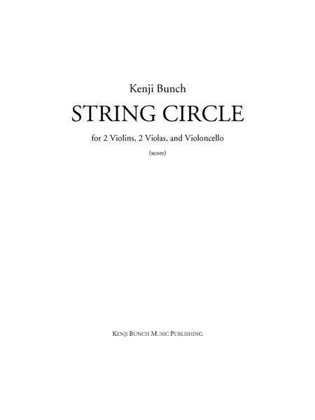 String Circle (score and parts)