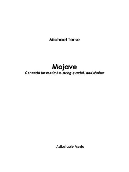 Mojave (score and parts)