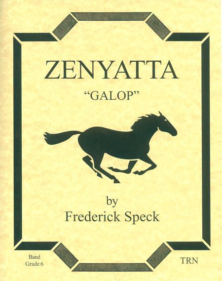 Zenyatta (score & parts)