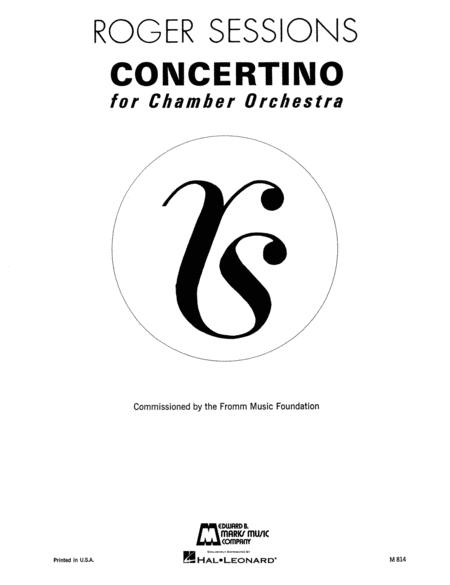 Concertino for Chamber Orchestra