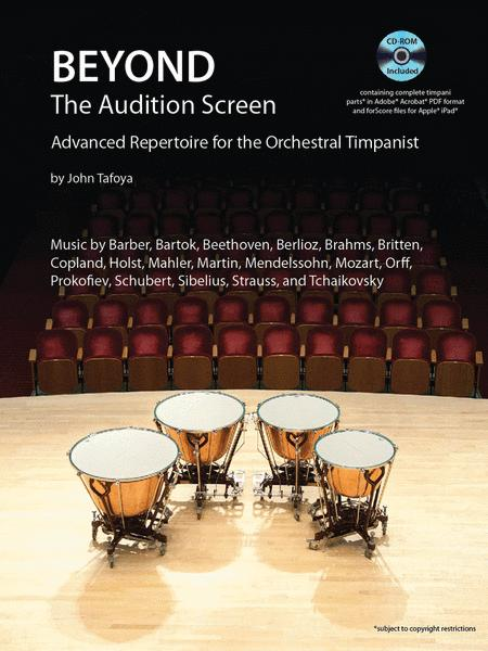 Beyond the Audition Screen