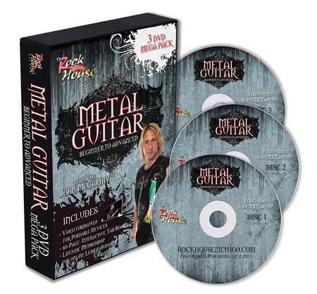 Metal Guitar - 3-DVD Mega-Pack
