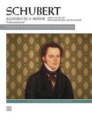 Schubert -- Allegro in A Minor, Op. 144 (
