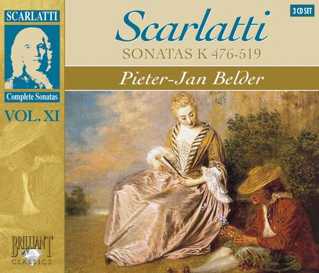 Volume 11: Complete Sonatas K 476-