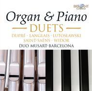 Organ & Piano Duets: Saint-Sae