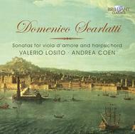 Sonatas: Viola D'Amore Harpsi