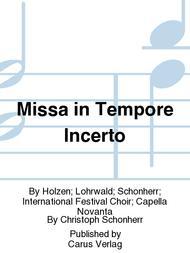 Missa in Tempore Incerto