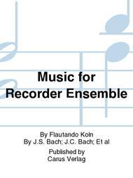 Music for Recorder Ensemble