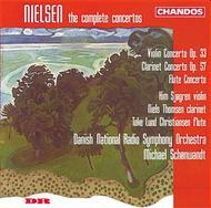 Violin Concerto / Flute Concerto / Clarin