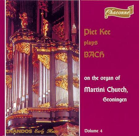 Bach Organ Works Vol. 4