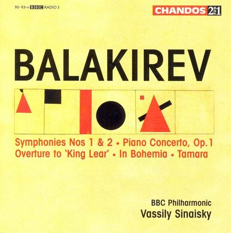 Symphonies Nos. 1 and 2 / Piano