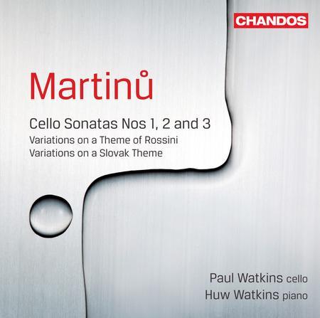 Cello Sonatas 12 & 3