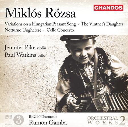 Volume 2: Rozsa Orchestral Works