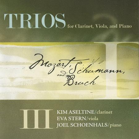 Trios for Clarinet Viola And