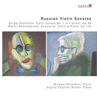 Russian Violin Sonatas