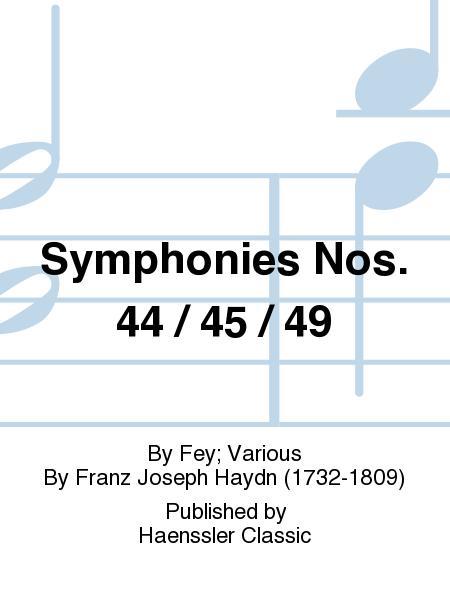 Symphonies Nos. 44 / 45 / 49
