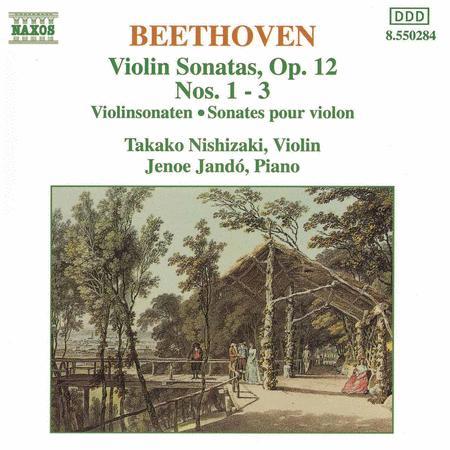 Violin Sonatas Op. 12 Nos. 1-3