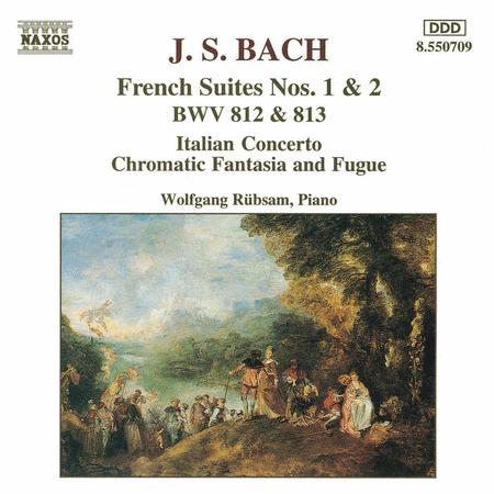 French Suites BWV 812 & 813