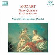 Piano Quartets K. 478 & 493