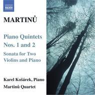 Piano Quintets Nos. 1 & 2