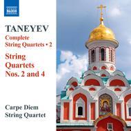 String Quartets Nos. 2 and 4