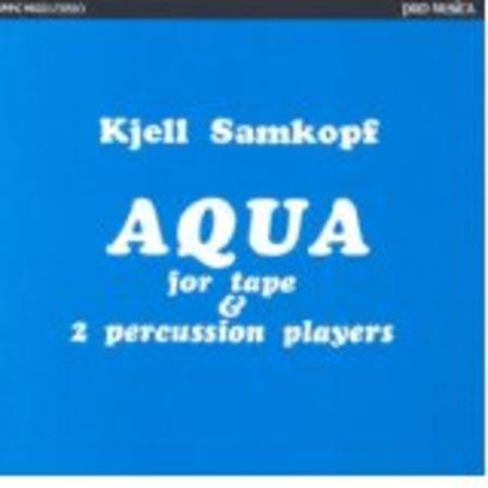 Aqua for Tape & 2 Percussion P