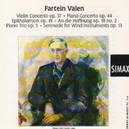 Violin Concerto; Epithalamion