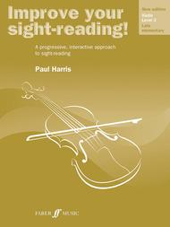 Improve Your Sight-reading! Violin, Level 3