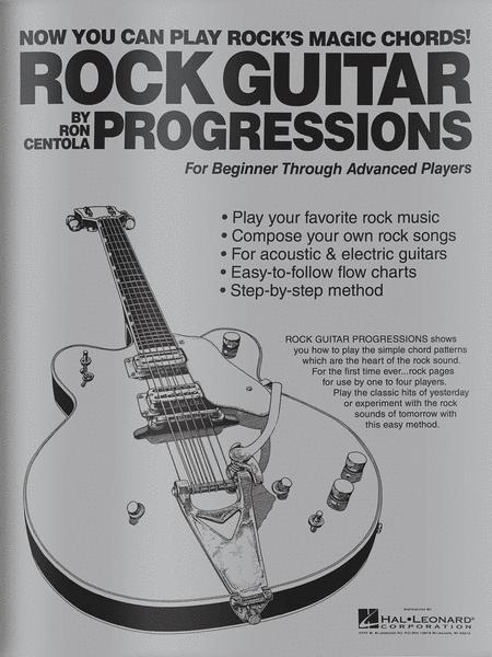 Rock Guitar Progressions Sheet Music By Ron Centola - Sheet