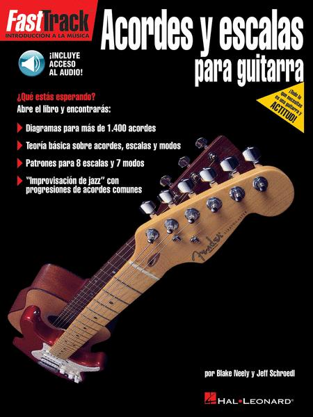 FastTrack Guitar Chords & Scales - Spanish Edition