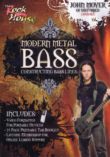 John Moyer of Disturbed - Modern Metal Bass